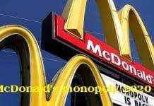 McDonald's monopoly 2020