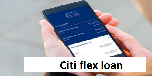 Citi flex loan