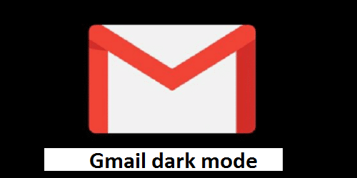 Gmail dark mode