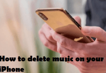 How to delete music on your iPhone