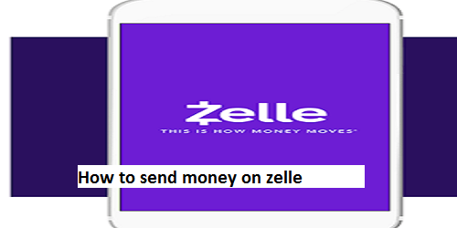 How to send money on zelle account