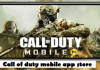Call of duty mobile app store