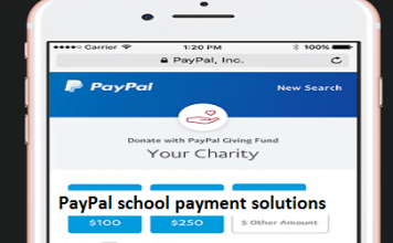 PayPal school payment solutions