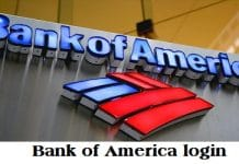 Bank of America login