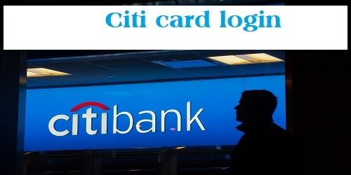 Citi card login