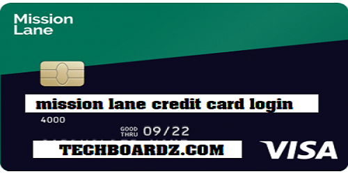 mission lane credit card login