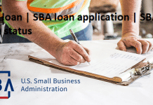 SBA loan | SBA loan application | SBA loan status