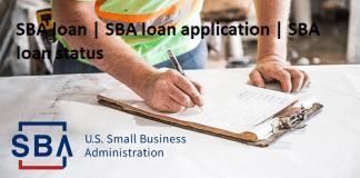 SBA loan   SBA loan application   SBA loan status