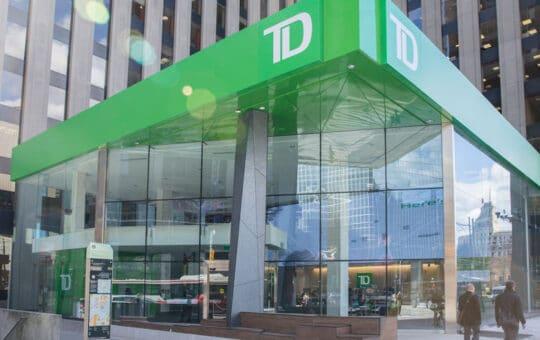 TD Bank online login
