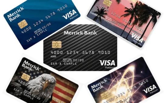 merrick bank credit card login
