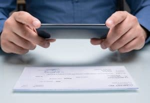 how to deposit a check online chase