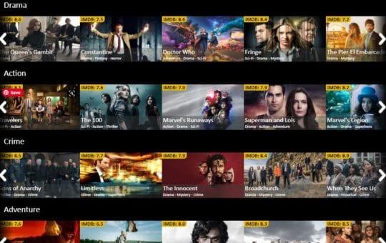 videovak online tv series